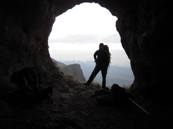 Central Drakensberg - 3 day cave loop