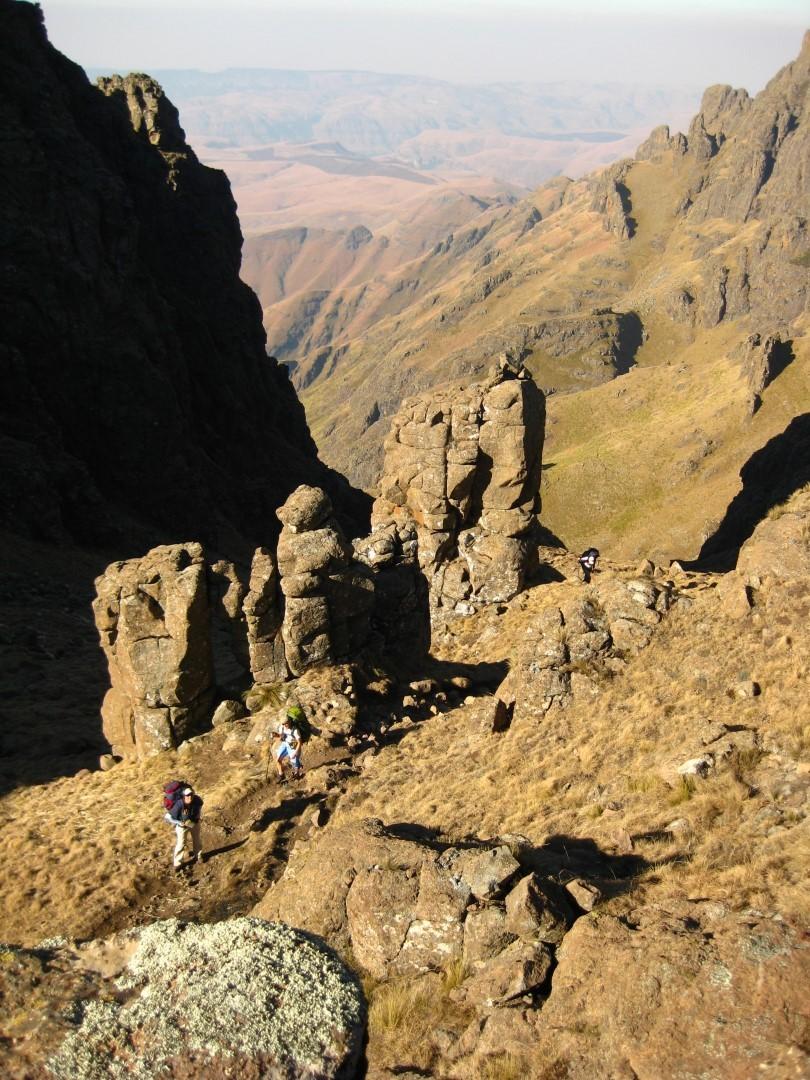 Organ Pipes Pass (Thuthumi Ridge Route)