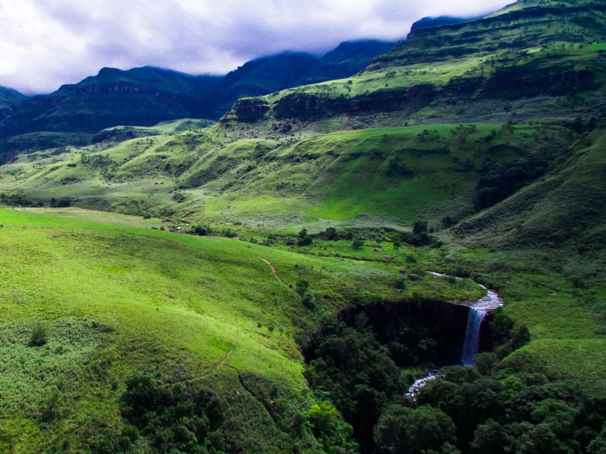 Sterkspruit Falls and Nandi Falls