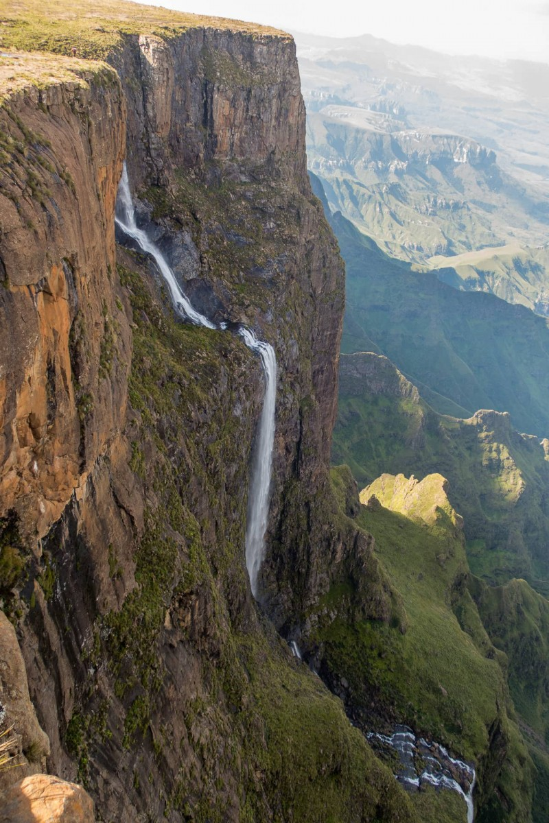 Chain Ladder Pass, Tugela Falls & Beacon Buttress Gully