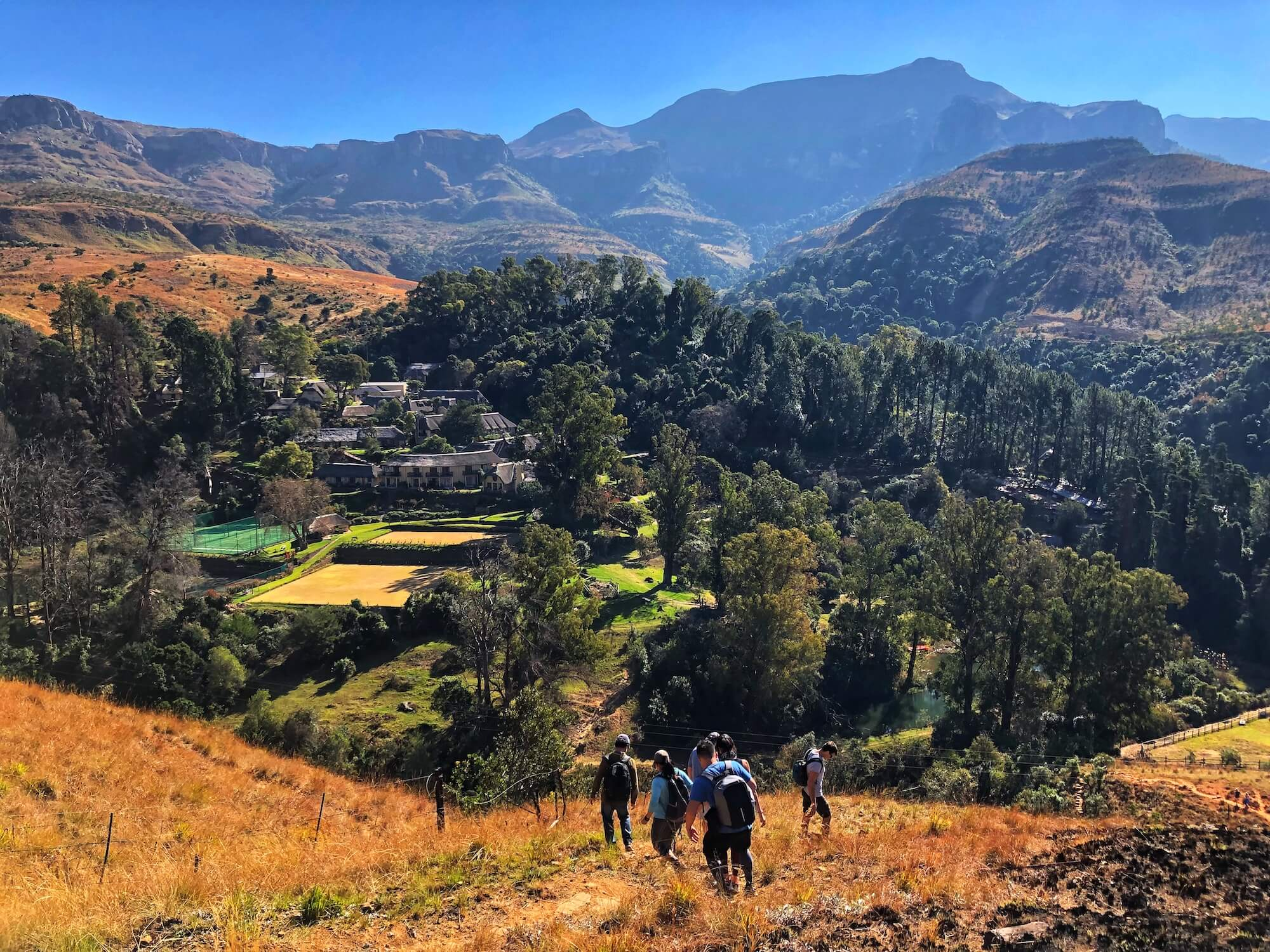 A family-friendly guide to hiking in the Drakensberg