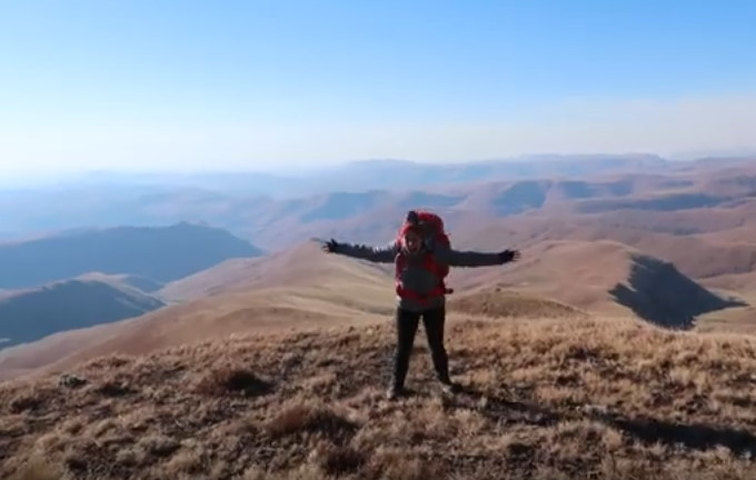 Drakensberg: Winter Trek up Bannerman Pass
