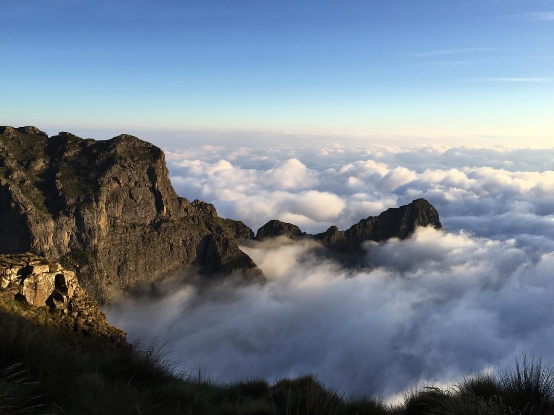 How to plan an overnight hike in the Drakensberg mountains