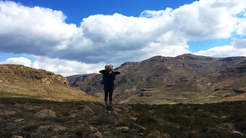 Drakensberg Trek: Rolands Cave